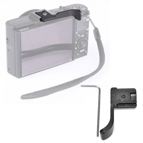 Negro palanca para pulgar alzado para Sony RX1 RX100 NEX-6 A6000 para Olympus EP1 EP2 EP3 EPL1 EPL2 EPL3 EPL5 EPM1 EPM2 Fuji X-100T X-M1 X-30