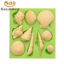 Moule en forme danimaux marins   Moule en Silicone, Fondant Biscuit gâteau outil de décoration pour gâteaux Arts et artisanat