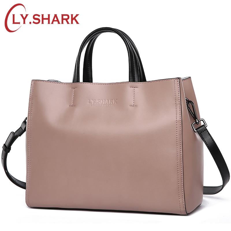 Ly。サメ女性バッグメッセンジャーショルダークロスボディバッグレディース本革バッグハンドバッグ女性の有名なブランドの高級デザイナートート