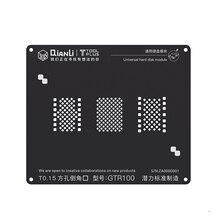 Pochoir BGA 3D en acier noir pour iPhone 6/7/8 HDD NAND disque dur plantation modèle détain BGA Reballing filet à souder
