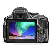 Ultra net Anti-scratch 9 H Temperli Cam Ekran Koruyucu Film Için Nikon D5300/D5500/D5600 h40