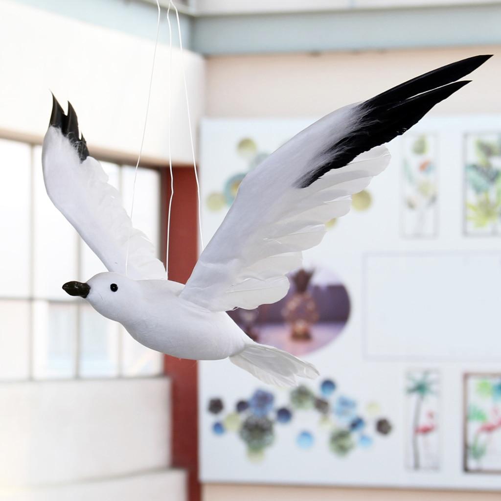 Wall Hanging Art Decor Flying Seagull Bird Statue Ocean/Seaside/Nautical Theme Room Decoration