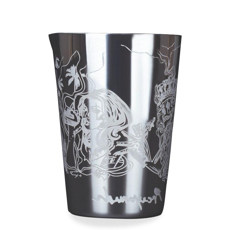 Vaso Mezclador de cóctel de 530ml, nuevo estilo de acero inoxidable, taza de menta Julep Mule Moscow, taza de cerveza, taza de café, vaso de agua