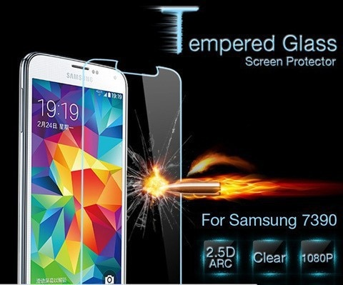 0.3mm  Anti-blast Tempered Glass Screen Protector For Samsung Galaxy Trend Lite S7390 Screen Protect