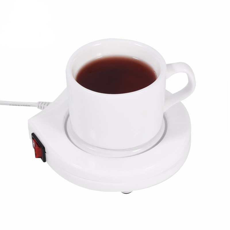 Taza de café de bebida eléctrica taza calentador Pad mat placa niños...