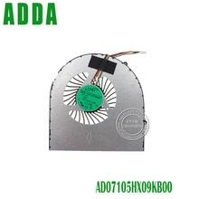 Brand New 4 pins DC5V 0.45A CPU fan for Lenovo Ideapad B570 B575 V570 Z570 laptop fan cooler AD07105HX09KB00