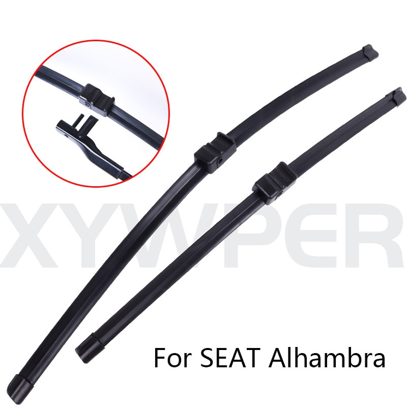 Winshield-limpiaparabrisas para coche, escobilla de limpiaparabrisas para SEAT Alhambra de 2001, 2002,...