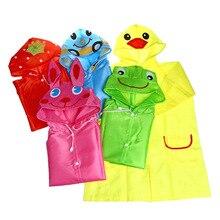 1pc mignon dessin animé Animal enfants manteau de pluie enfants imperméable vêtements de pluie garçons filles imperméable imperméable étudiant Poncho imperméable