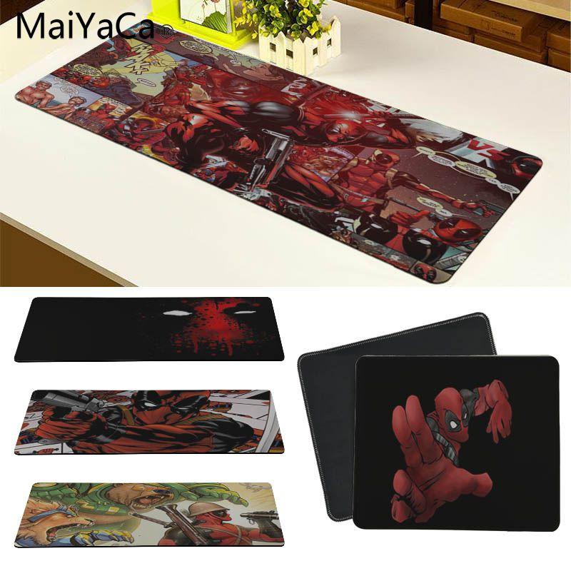 MaiYaCa хит продаж аниме дэдпул удобный коврик для мыши игровой коврик Размер для 18x22 см 20x25 см 25x29 см 30x70 см 30x90 см