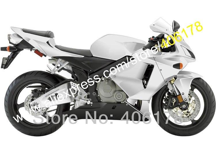 Дешевые бесплатные пользовательские черный Серебряный для CBR600 05 06 CBR F5 600RR 2005 2006 Sportbike обтекатель комплект (литья под давлением)