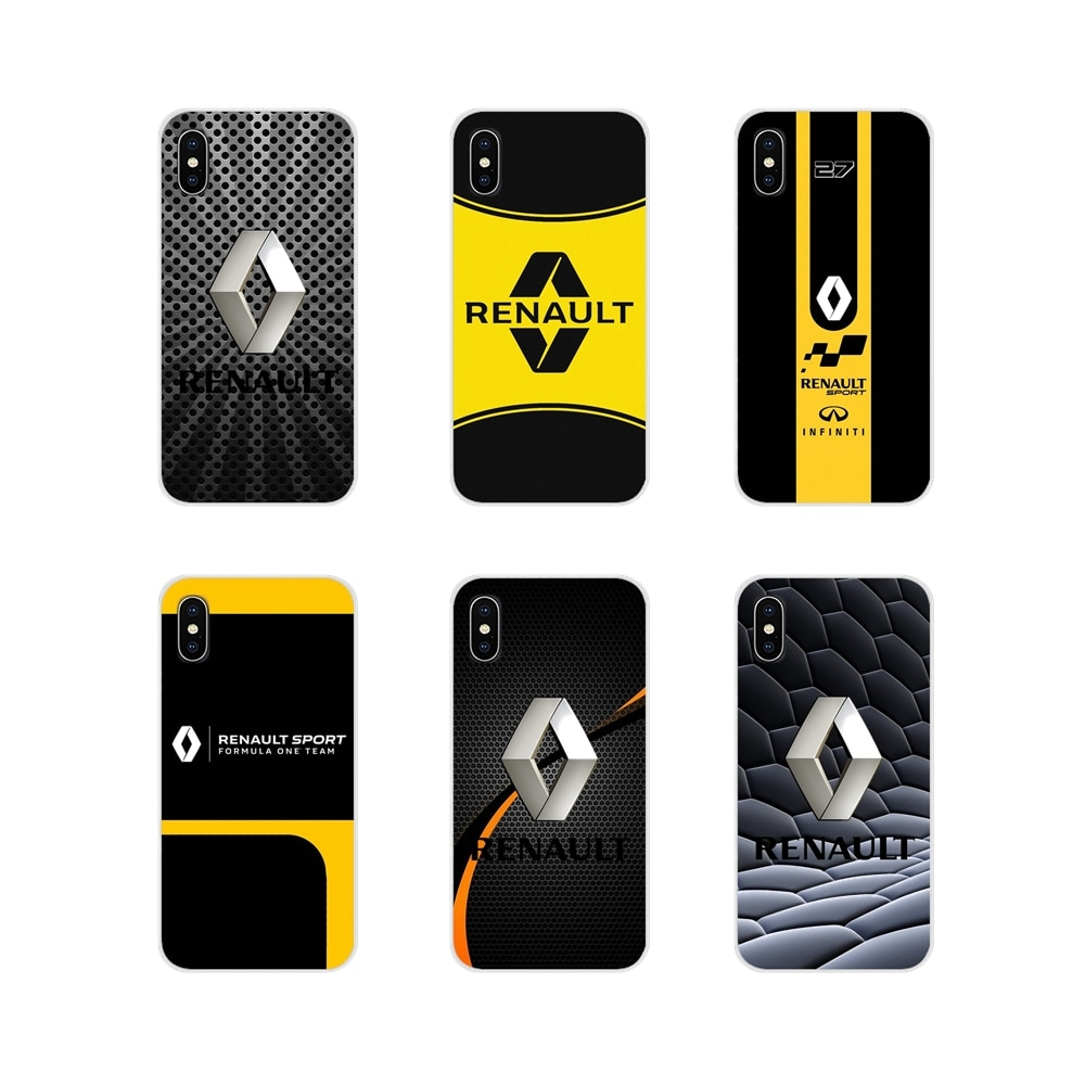 Renault S. anzeigen logo Zubehör Phone Cases Covers Für Apple iPhone X XR XS MAX 4 4S 5 5S 5C SE 6 6S 7 8 Plus ipod touch 5 6