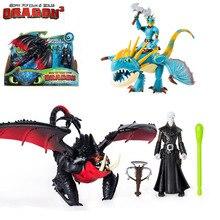 Véritable comment former votre Dragon 3 hoquet & sans dents/fureur légère astrid & stormfly Snotout & crochet Grimmel jouet pour enfants