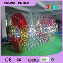 Kostenloser Versand Und Kostenlose eine Pumpe Große Aufblasbare Hamster Ball Drehtrommel Ball Rad Wasser Roller Für Sommer Laufschuhe Roller