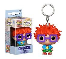 Pop Rugrats in Parigi Chuckie Action Figure Chiave Della Catena Bambola Giocattolo con La Scatola