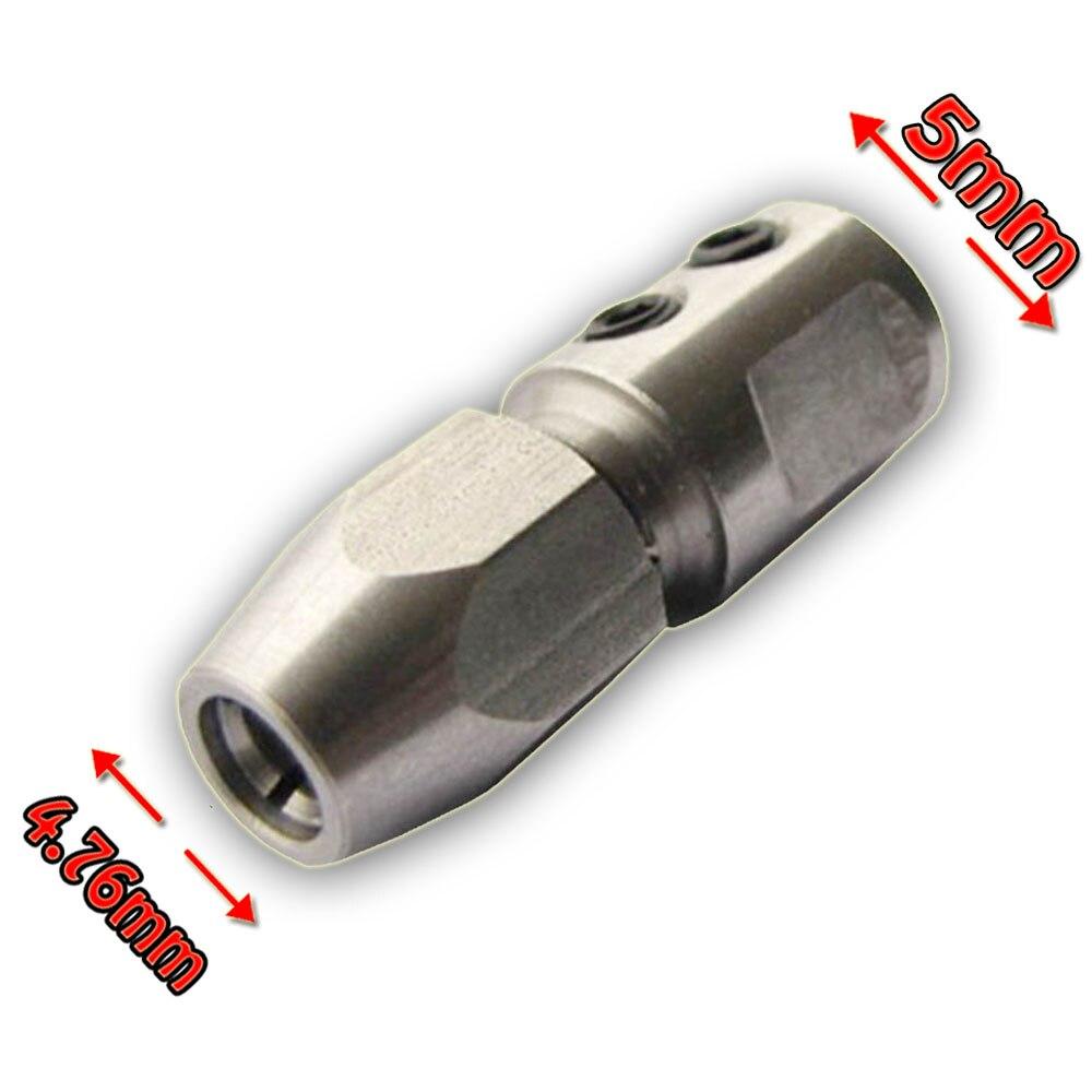 """Гибкий цанговый соединитель для 5 мм вала двигателя и 4,76 мм (3/16 """") гибкий кабель Rc лодки"""