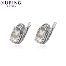 Xuping brincos especiais cristais populares de swarovski simples jóias para o presente de moda casamento feminino S141.8-93954