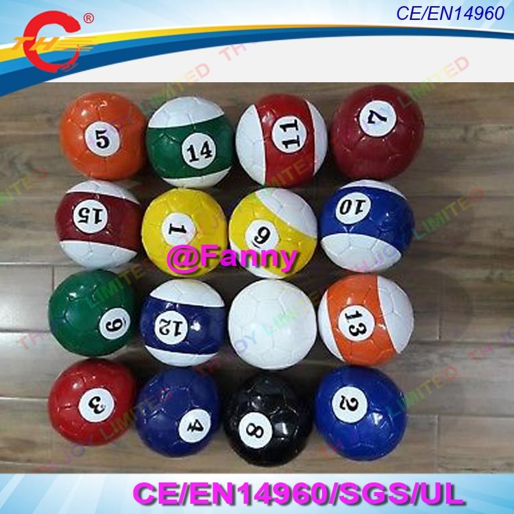 (16 unidades por lote), tamaño 3 #4 #5 # Snook balón de fútbol, Bola de billar, Snooker Fútbol para juego de Snookball, envío aéreo gratis A la puerta