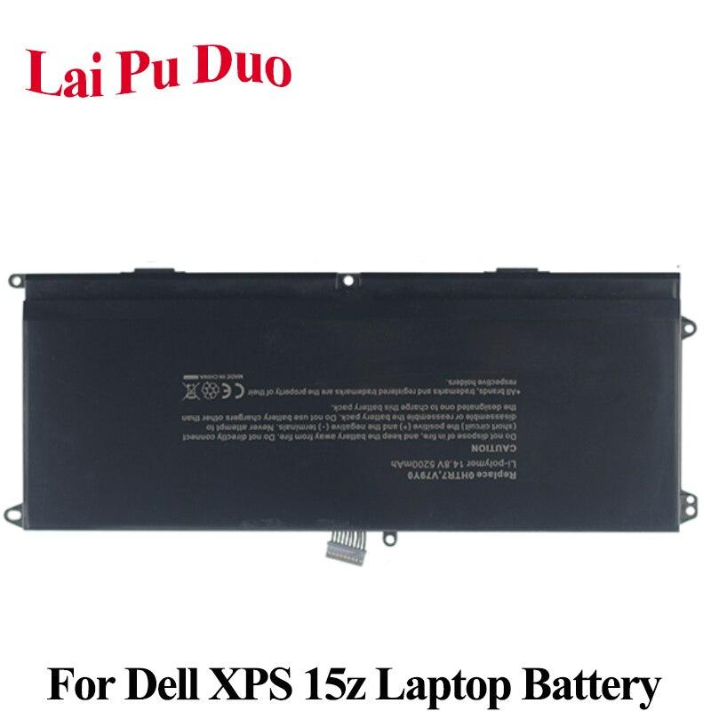 14,8 V 5200 mAh batería del ordenador portátil 0NMV5C 75WY2 075WY2 OHTR7 0HTR7 NMV5C para Dell XPS 15z L511Z 15Z-L511X 15Z-L511Z L511X