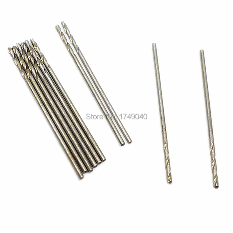 10pcs micro 1 5mm drill bit hss straight shank electrical tool twist drilling bit suitable for wood aluminium plastic drilling 10pcs 1.0mm Micro Drill Bit HSS Straight Shank Electrical Tool Twist Drilling Bit Suitable For Wood Aluminium Plastic Drilling