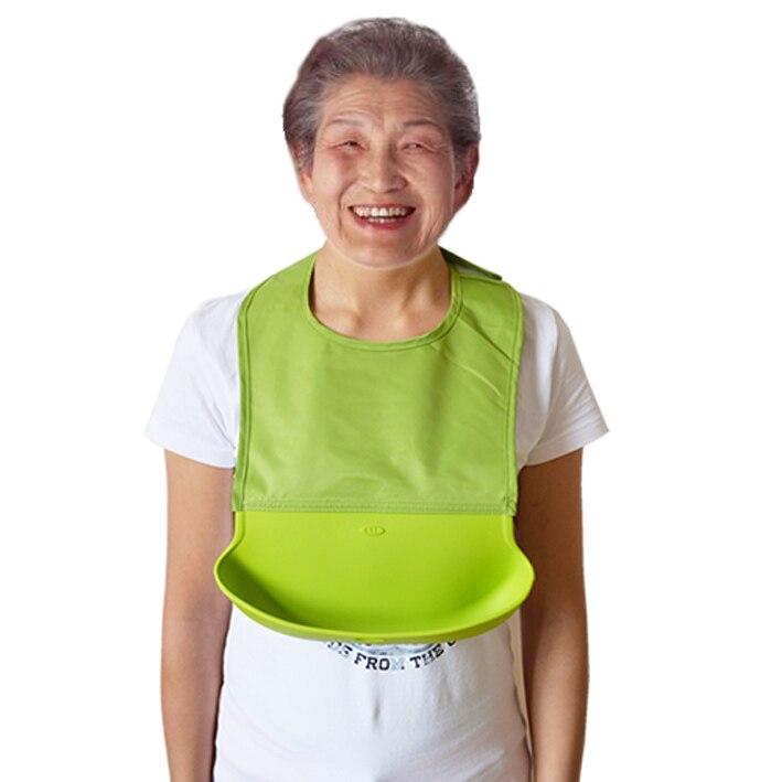 5 neue Design Erwachsene Wasserdichte Silikon Speichel Handtuch Großhandel Cartoon Schürzen Lätzchen Solide Unisex Neuheit Silica Gel