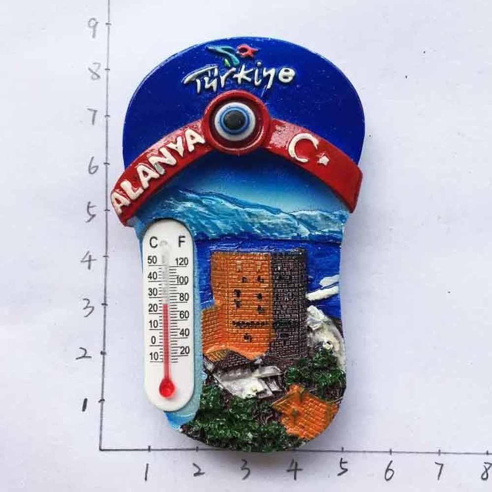 Türkei Kühlschrank Magnet Tourist Souvenirs Aegean Kusadasi Alanya Fethiye Schildkröte Fisch Delphin Schmetterling Pantoffel Kühlschrank Magneten Kühlschrank Magnete Aliexpress