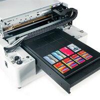 Full Automatic Plastic Cover Inkjet Printing Machinecard Uv Printer Salephone Case Print Flatbed
