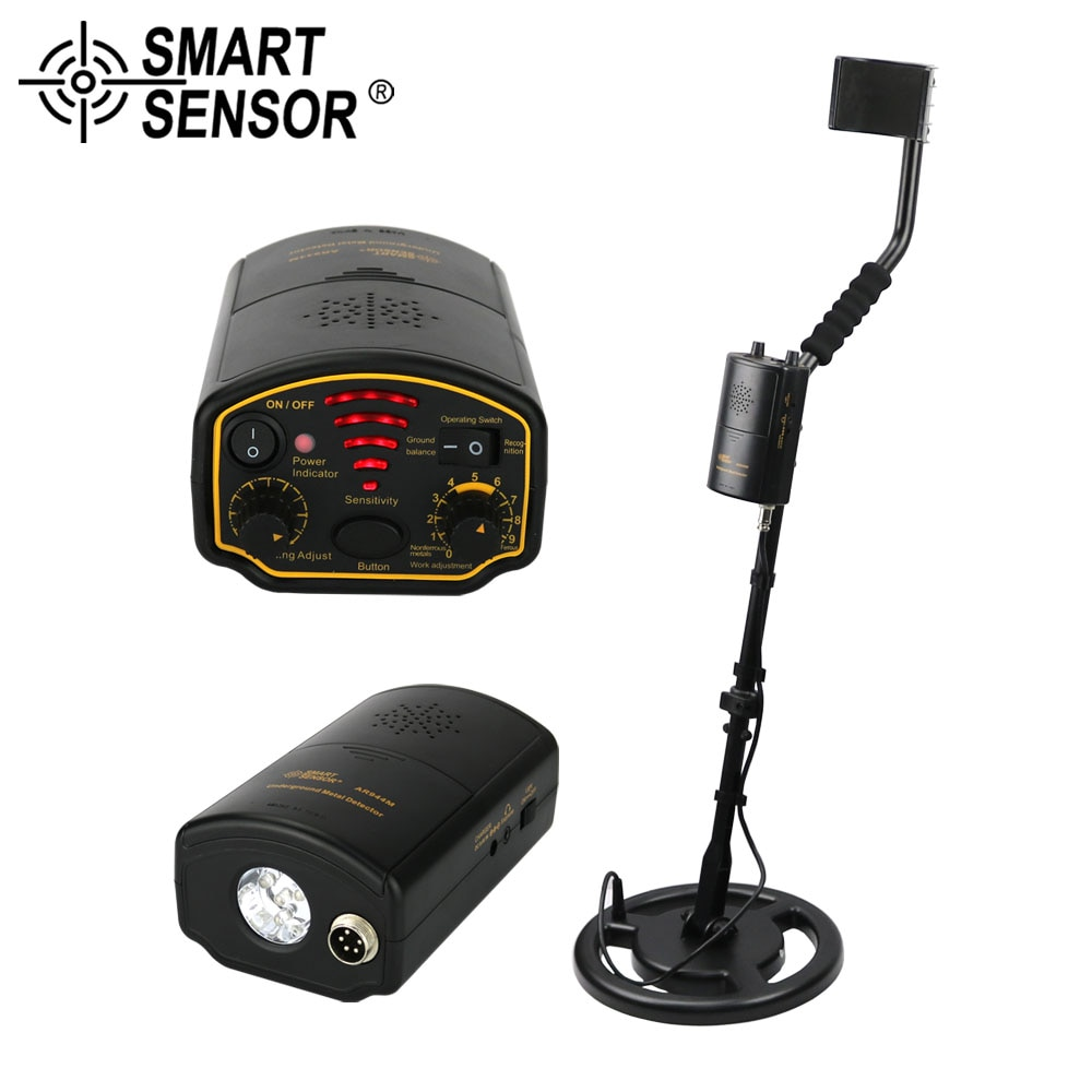 Professional Metal Detector Underground AR944M/AS944 Search Depth 1.5M/3M scanner Finder Gold Treasure Metal Hunter