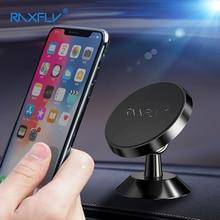 RAXFLY Support magnétique Support de voiture pour iPhone XS MAX XR X 8 7 Plus Support de téléphone de voiture 360 Rotation aimant Support pour Samsung Xiaomi