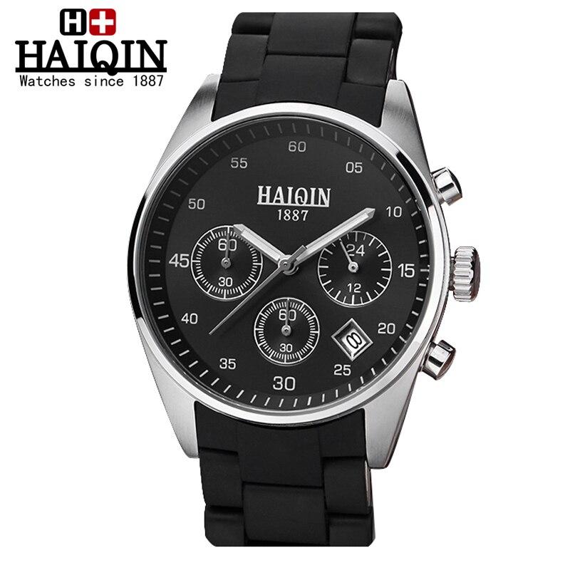 HAIQIN Men's Watches sport Mliltary watch men wristwatch mens watches top brand luxury wrist watch male Relogio Masculino Reloj