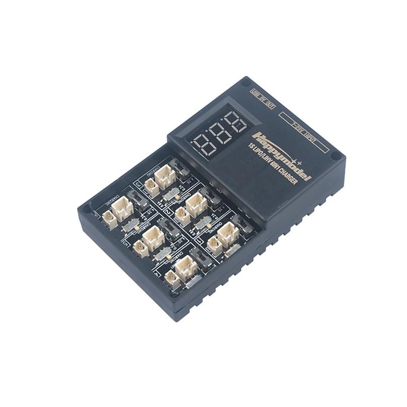 Jmt 6 em 1 3.7 v 3.8 v 1 s lipo lihv carregador de bateria placa para minúsculo 6 7 qx65 mobula7 mobula 6 rc quadcopter fpv corrida zangão bwhoop