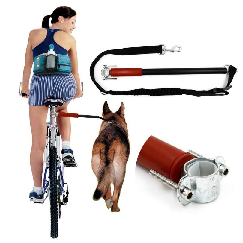 Control de perro bicicleta/bicicleta de ejercitador de bicicleta Correa accesorio distancia guardián manos libres perro Trotter Jogger caminar perro herramientas