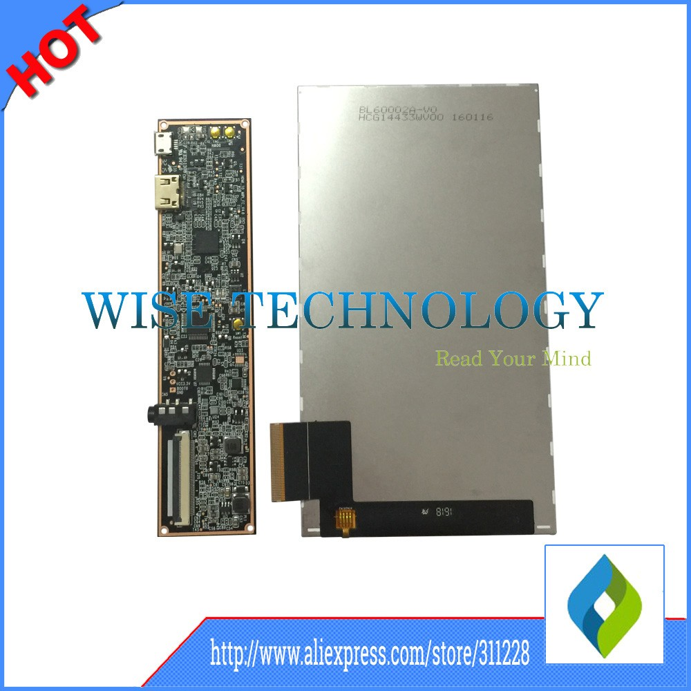 Mipi Board 6 0'' 1440x2560 2K TFT LCD screen display with HDMI driver board  with MIPI connector for vr card board