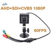 HQCAM 50fps 60fps Night Vision AHD+SDI+CVBS 1080P SDI IR Camera Stellar camera 1/3 inch 2.1MP Panasonic Sensor Mini SDI Camera