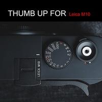 Hot Shoe Cover Aluminum Thumb UP Metal Thumb Rest Thumb Grip For Leica M10
