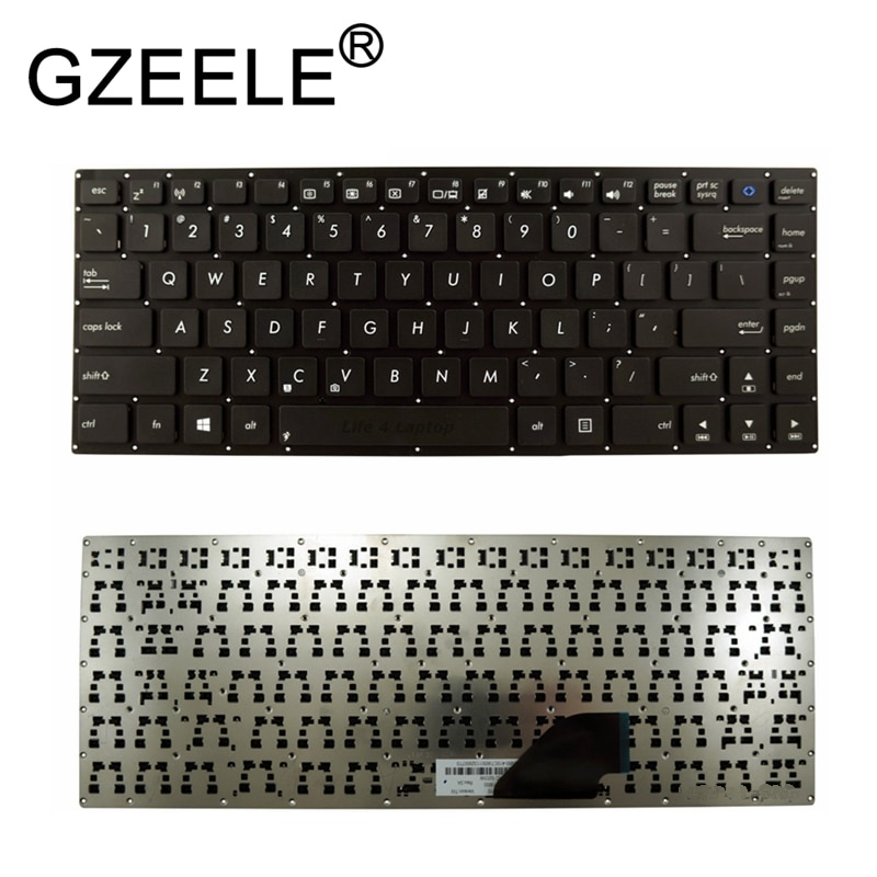 GZEELE جديد ل Asus محول كتاب T300L T300LA الأسود تخطيط الولايات المتحدة استبدال أجهزة الكمبيوتر المحمول لوحة المفاتيح