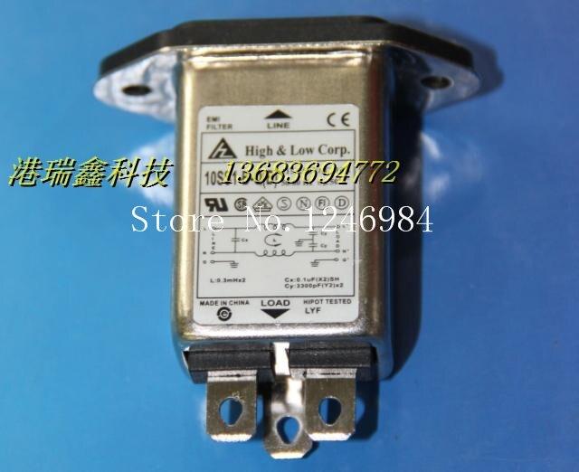 [SA]Filtered power connector socket power connector socket levy filter triangle 10SS1-BQ (B) 10A FILTER--20pcs/lot