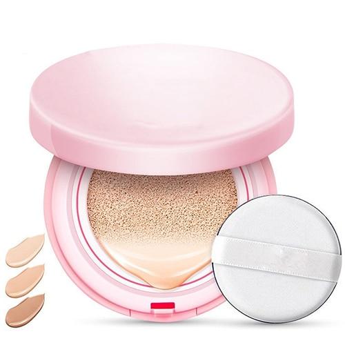 Almohadilla de aire BB Cream corrector fuerte herramienta de maquillaje cuidado de la cara belleza base bbglow seta cabeza esponja de crema CC tonalnik