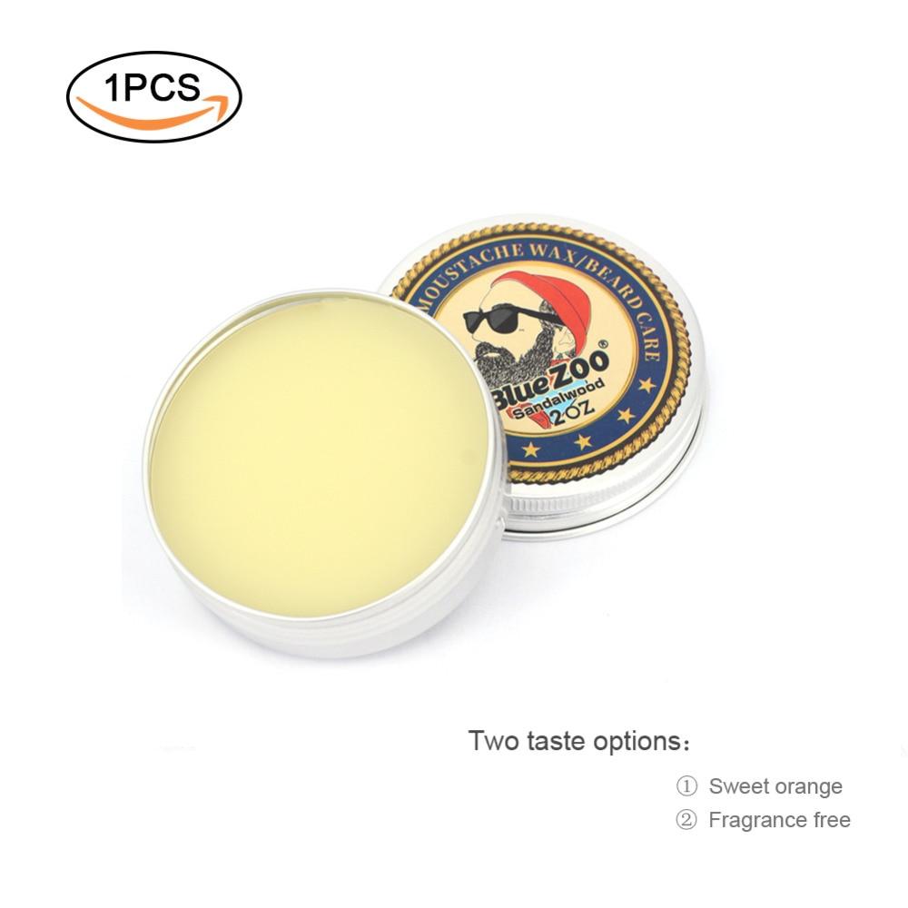 Новый натуральный крем для усов масло бальзам бороды увлажняющий сладкий