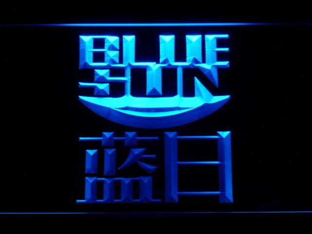 Señales g231 Firefly Serenity Blue Sun luz de neón LED con interruptor de encendido/apagado 20 + colores 5 tamaños para elegir