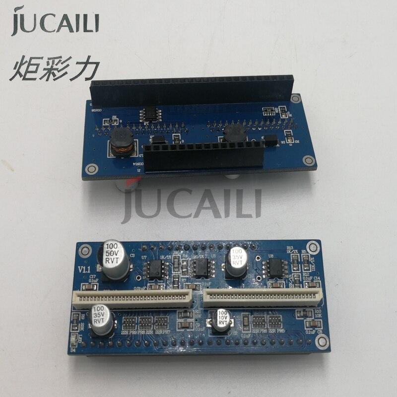 Jucaili 1pc connect board for Seiko 510 print head /Printer Infinity Challenger Taimes Phaeton Zhongye SPT510 transfer card