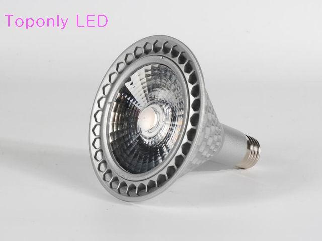 22 Watt Super Helle E27 PAR38 Led Spot Beleuchtung AC100-277V Epistar COB Birnenlampe CRI> 80 Weiße Farbe 100 teile/los DHL FreeShipping