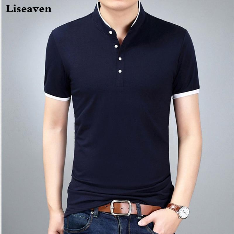 Liseaven брендовая футболка, мужские футболки, мужская футболка с коротким рукавом, летние футболки для мужчин, футболки, мужская футболка, футболки