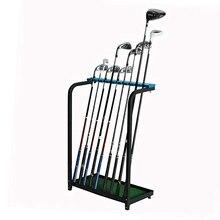 CRESTGOLF Golf Club présentoir support stockage en métal Durable 9 Clubs Golf Putter étagère organisateurs aides à la formation