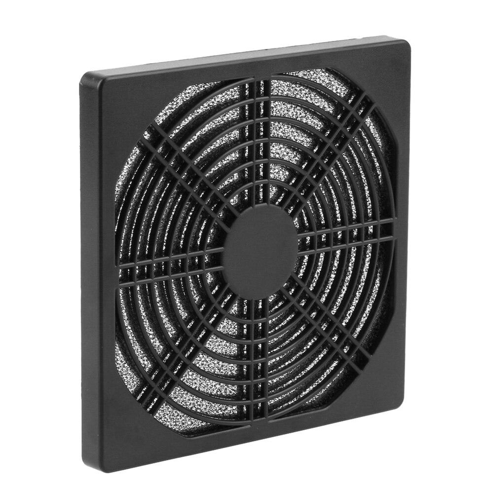 1/2/5Pcs Staubdicht 120mm Fall Fan Staub Filter Schutz Grill Protector Abdeckung für PC Compute reinigung Lüfter Abdeckung Net