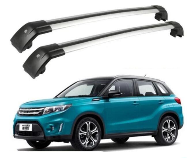 Aleación de aluminio de alta calidad para el techo del coche equipaje barra apta para Suzuki Vitara 2016 2017 2018 2019 2020