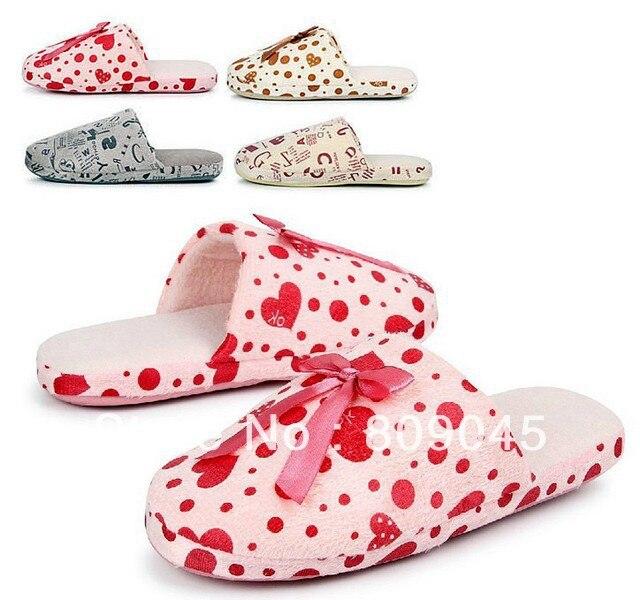 Autumn winter  shoes  Home slippers winter slipper, fleece slipper long flush warming  homing slippers, indoor shoes TX007-1pcs