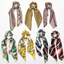 Bandes élastiques à nœud croisé Vintage   Bandanas, ruban nœud croisé, bandeau à nœud croisé, chouchou queue de cheval, cordes pour cheveux, accessoire de cheveux pour filles femmes
