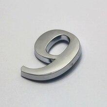 Signe de numéro de maison 0-9   Autocollant dadresse numérique, Plaque de porte numérique pour maison hôtel meilleur prix