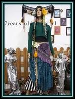 belly dance top modal wear yoga tribal fusion h80 85