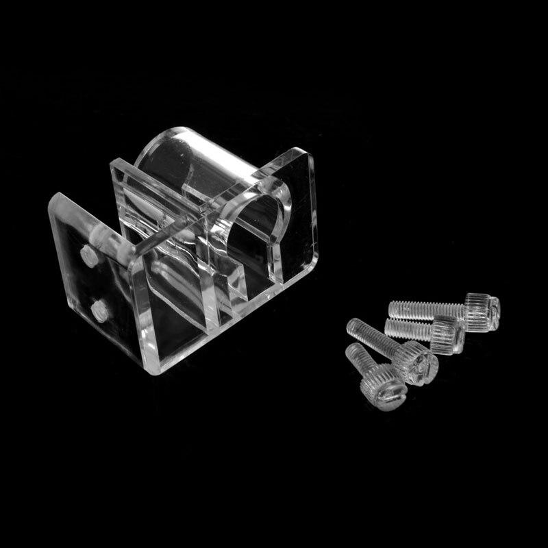 Acuario acrílico pecera filtro de salida de entrada tubo de agua manguera montaje titular claro acuario accesorios C42